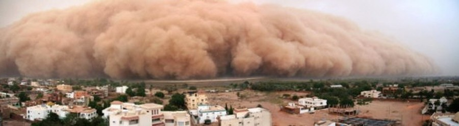 Haboob in Egypt. Photo credit John Patrick/flickr