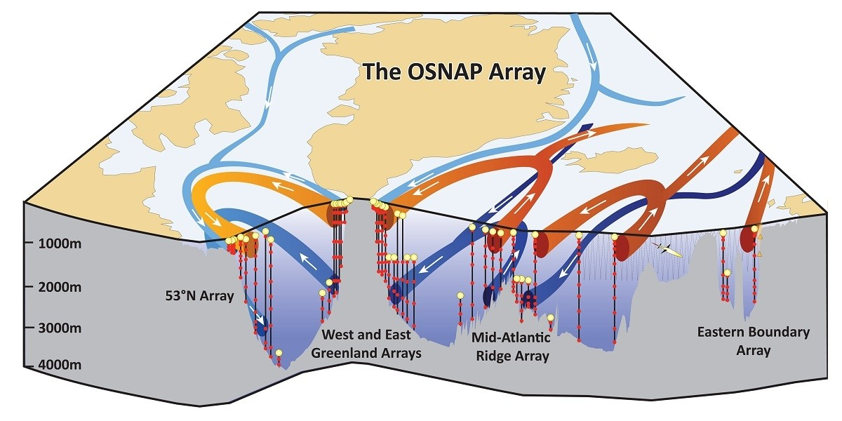 Schematic of the OSNAP array.