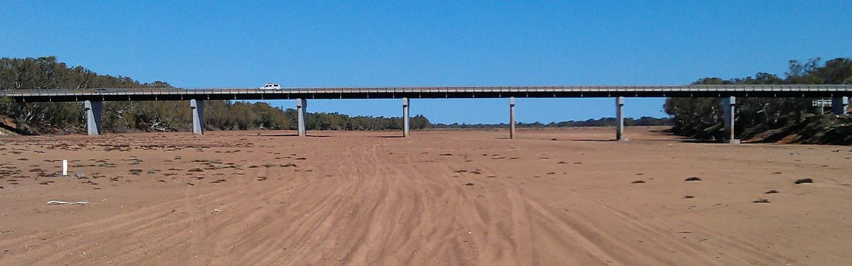 Gascoyne River at 9-Mile Bridge