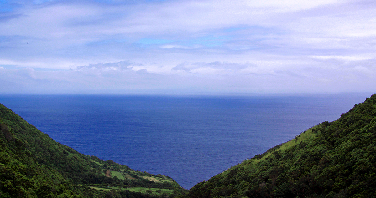 The island of São Jorge, Azores. Photo: Guillaume Baviere.