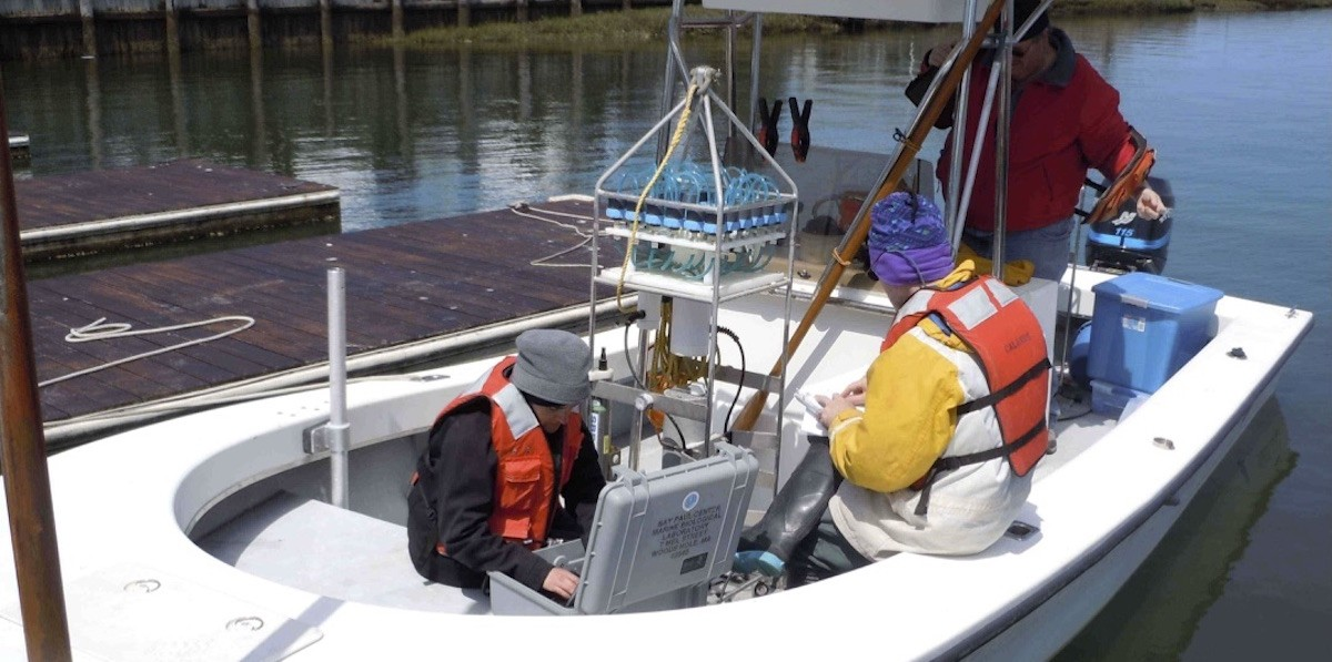 Automated phytoplankton samplers allow for sampling during bloom events.