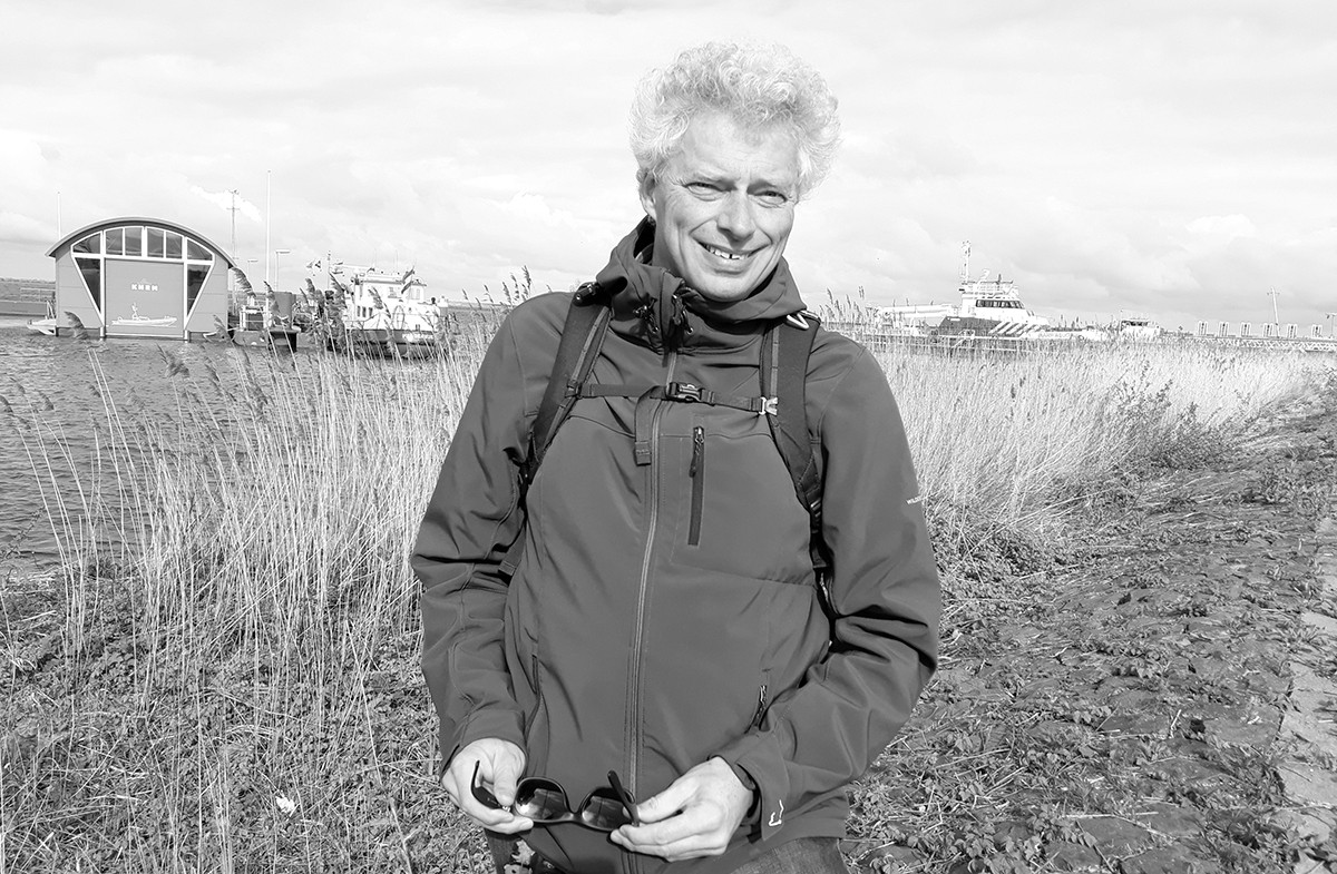 Prof. dr. Tjeerd Bouma, Coastal ecologist at NIOZ, Lector at the University of Applied Sciences, Vlissingen & Honorary Professor at Groningen University