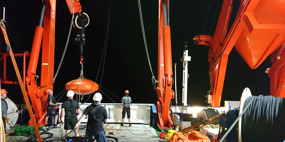 Re-deploying buoy Carmen
