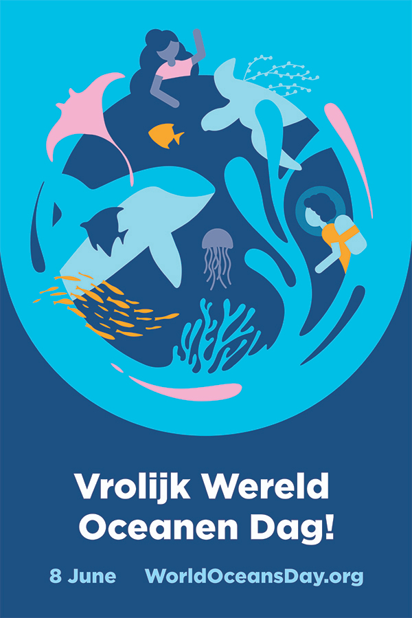 Meer informatie over World Oceans Day