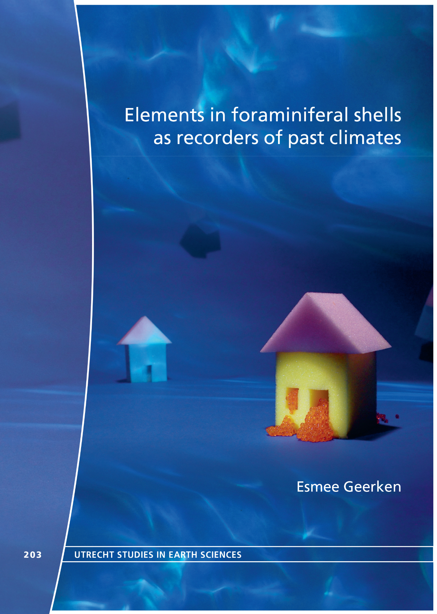 "PhD defence ""Elements in foraminiferal shells as recorders of past climates""  University of Utrecht 13 december 2019, 12.45"