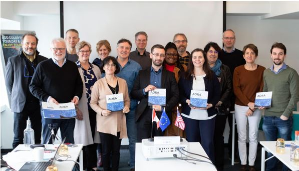 In Brussels on 5th February at a meeting of the AORA Marine Microbiome group at the Skeikampen, Thon Hotel Brussels City Centre the AORA Marine Microbiome Roadmap has been launched. Photo: AORA