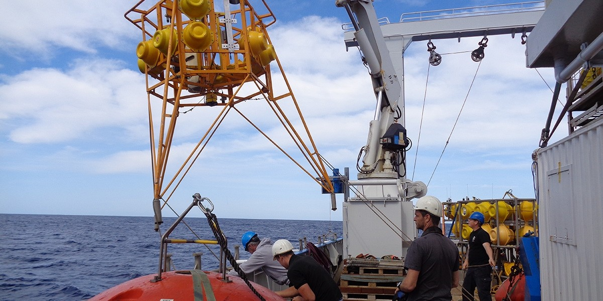 The BoBo lander registers activities at the sea floor for a long period