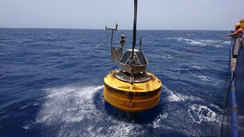 Buoy Carmen is ready for another year of dust sampling