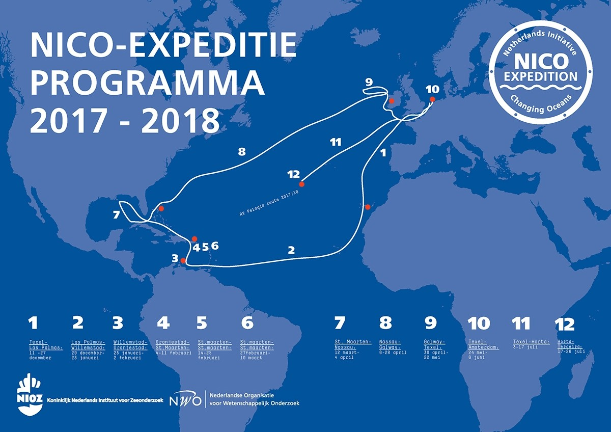 The NICO expedition program 2017-2018 | Click on the picture to download the PDF.